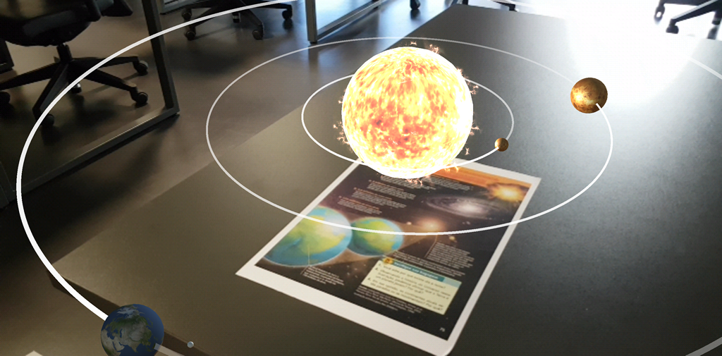 Augmented Reality for Education and Learning