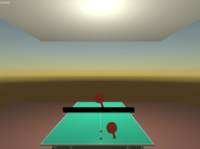 VR Table Tennis