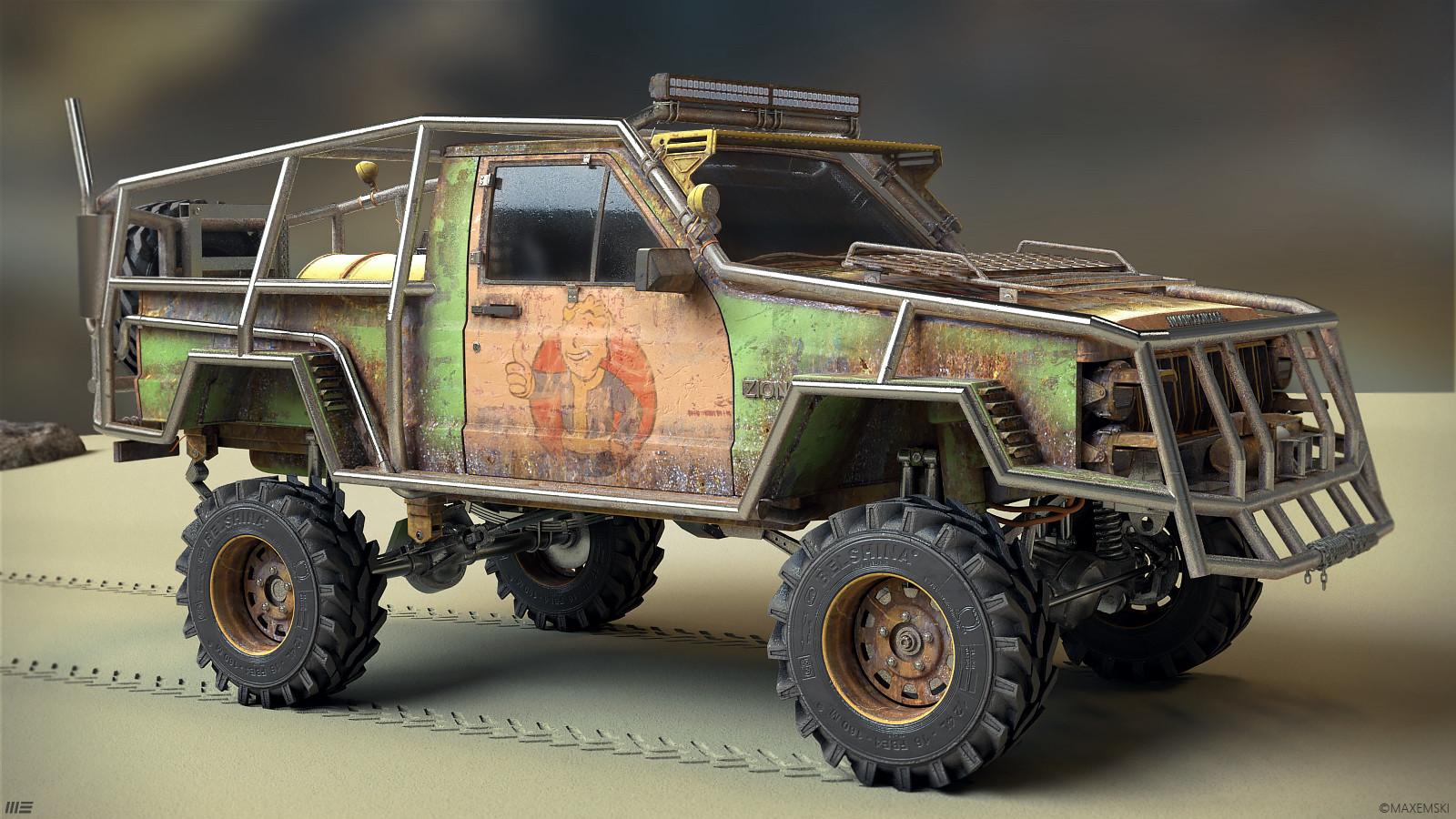 """Navuhodonosor"" Jeep"