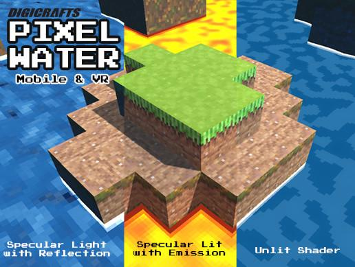 Pixel Water Shader