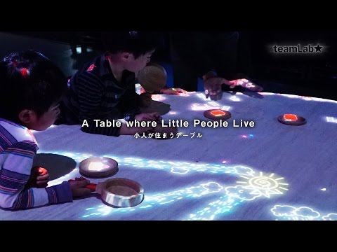 A Table where Little People Live