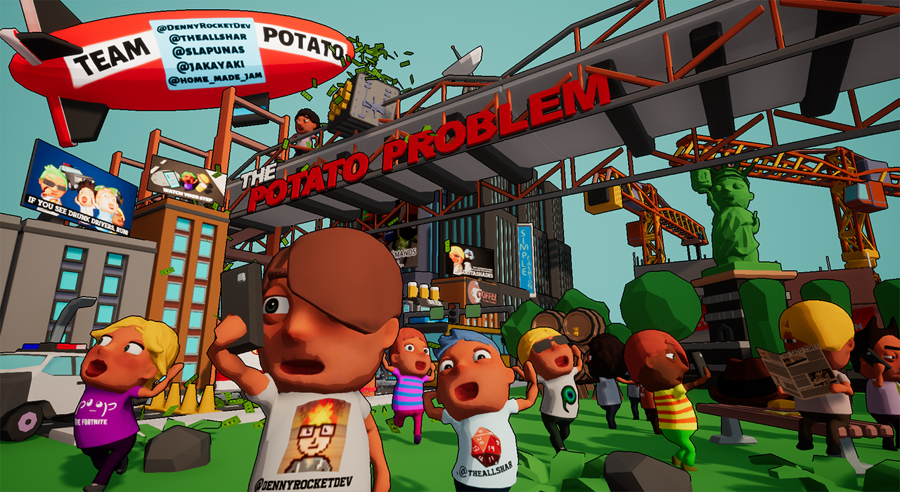 UE4JAM The Potato Problem (Winning Entry)