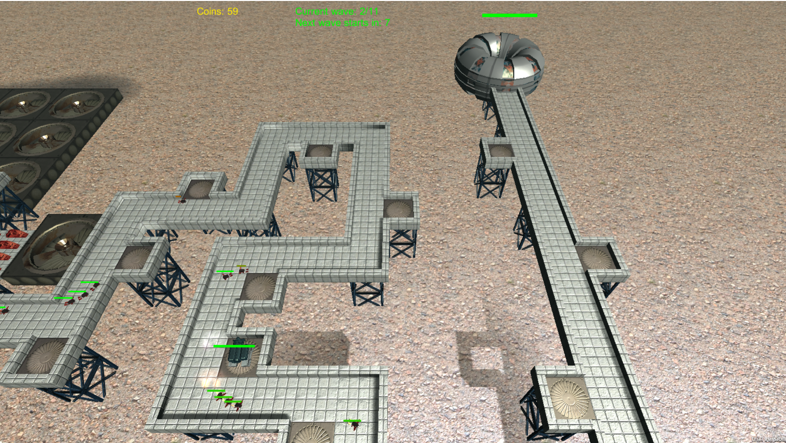 Tower Defence - Prototype