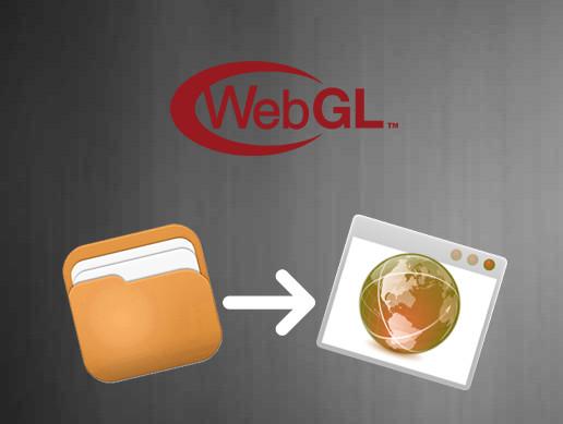 WebGL Native File Browser