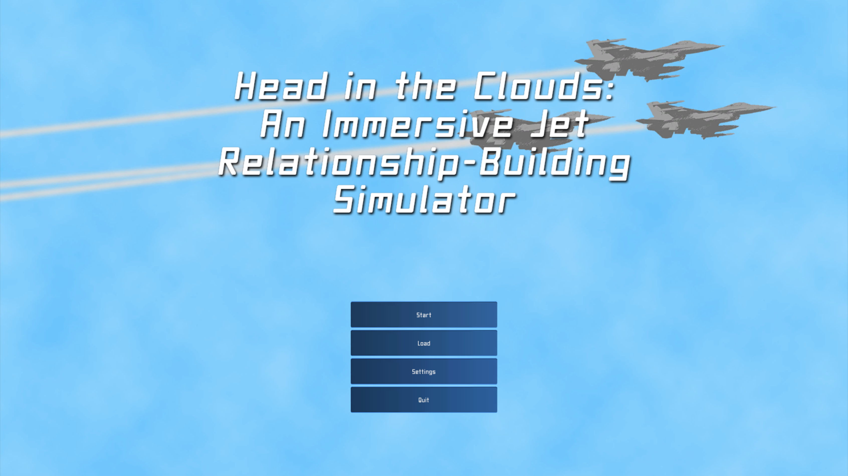 Head in the Clouds: An Immersive Jet Relationship-Building Simulator