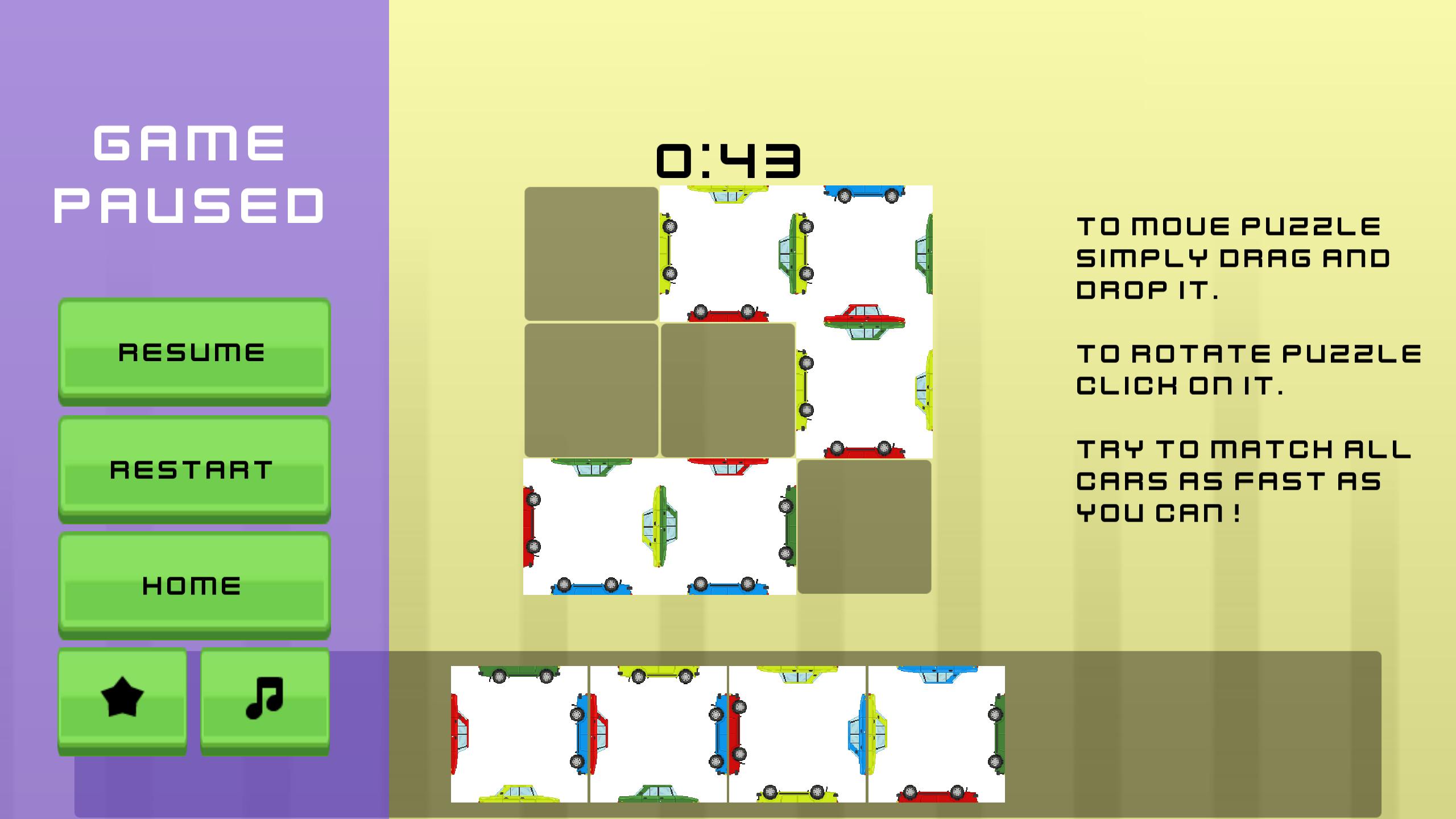 Car Puzzle Game