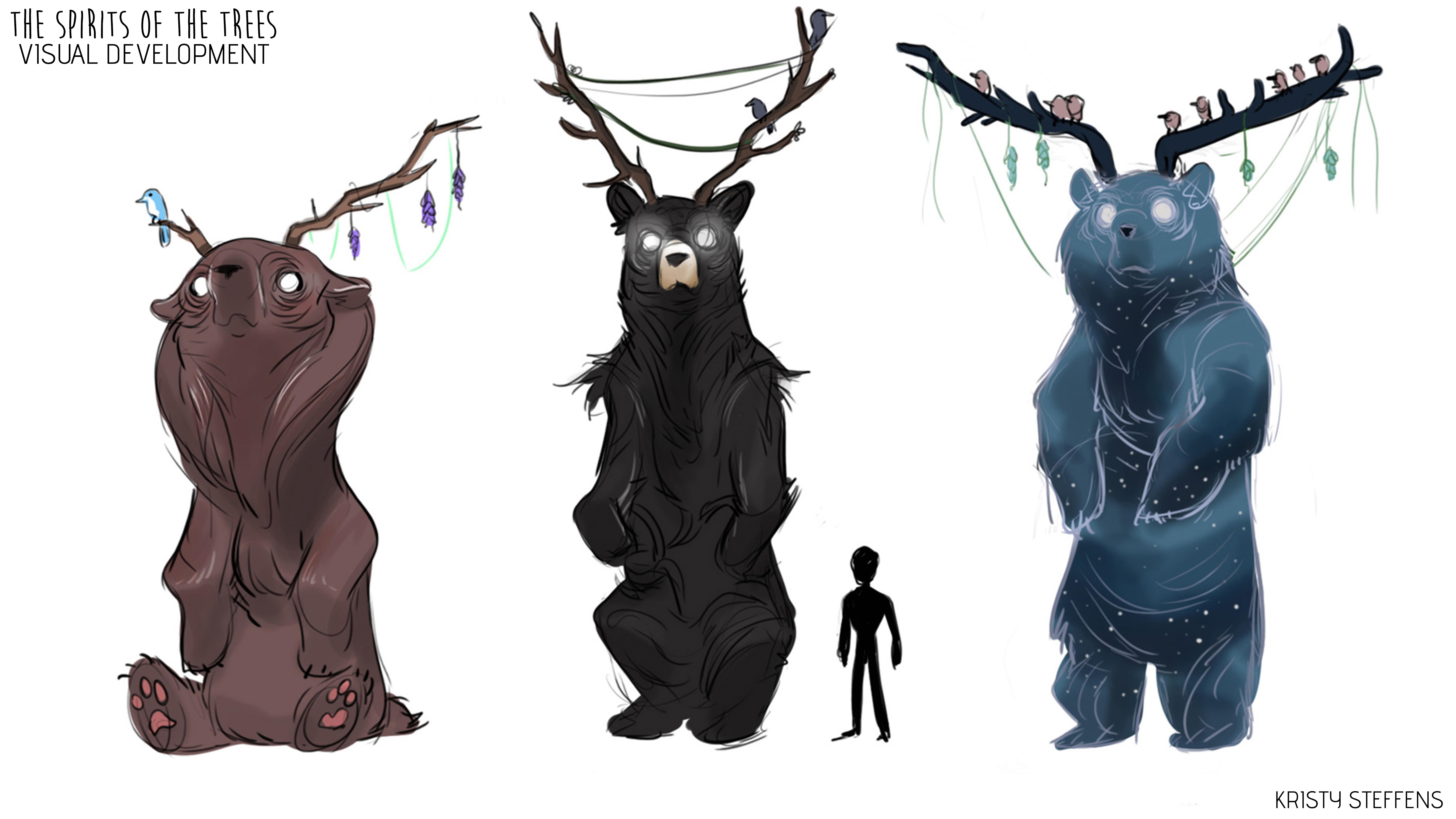 Spirits of the Trees - Development