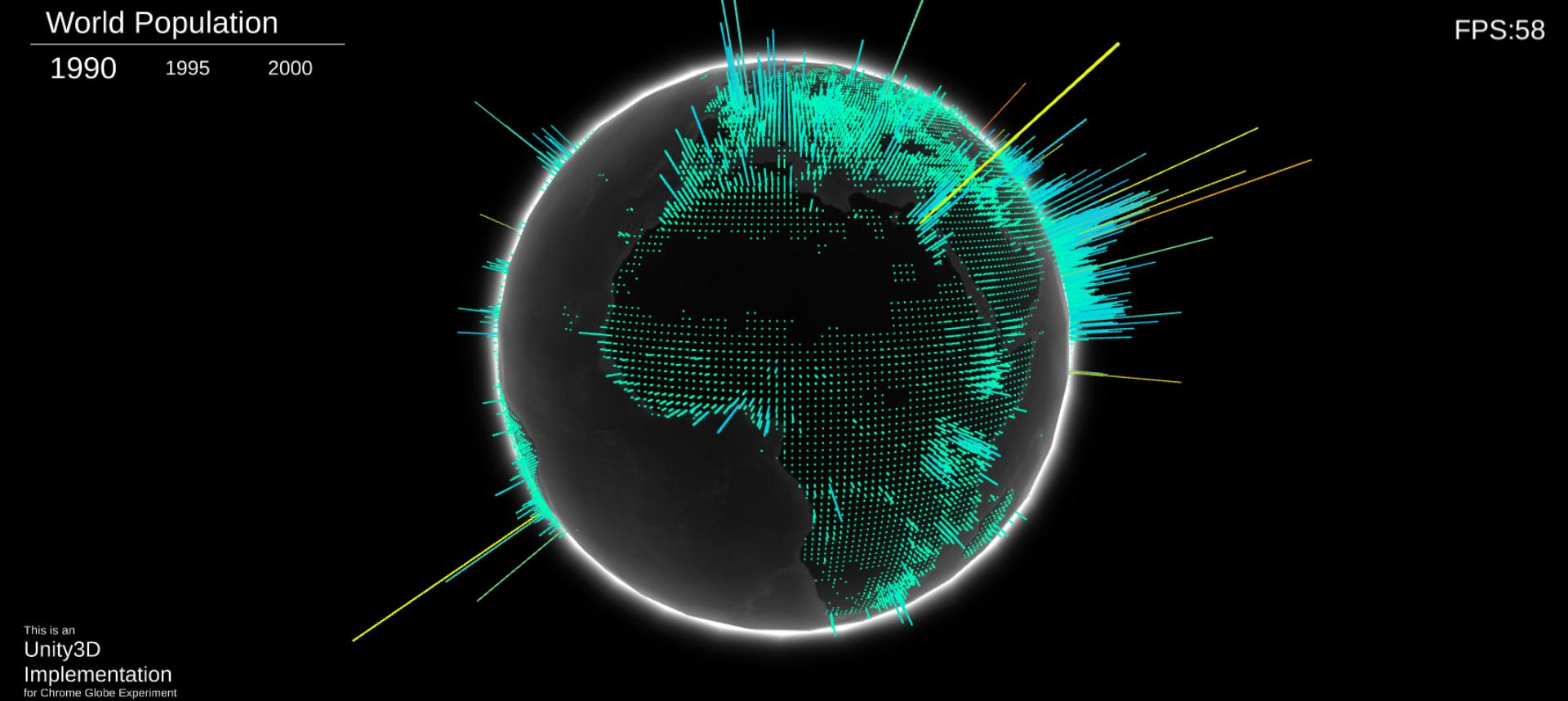 Unity3D-Globe