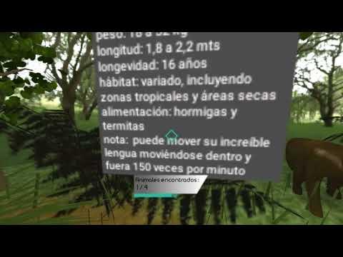 Animals on extinction VR