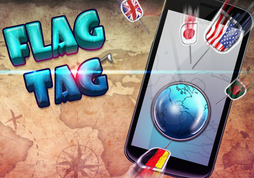 Flag Tag Challenge! World Conqueror Game