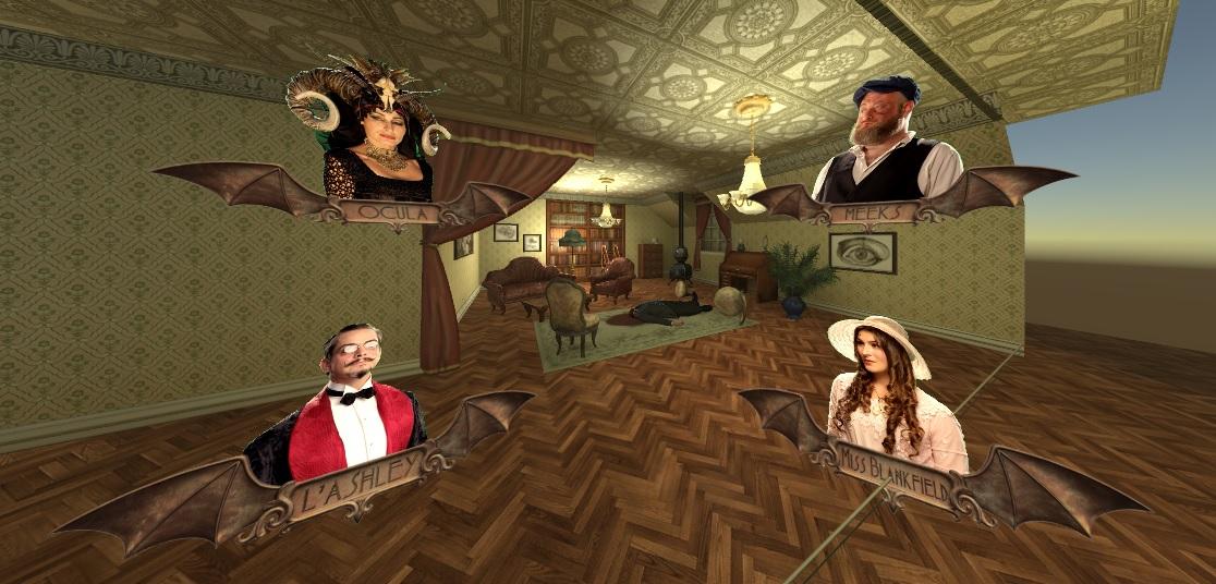 Murder Mystery VR, Eyetracking