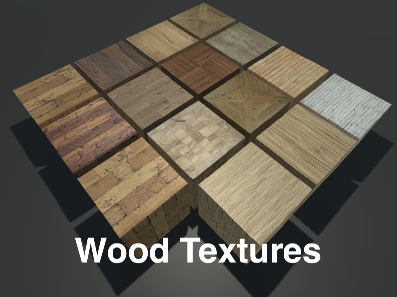 15 Realistic Wood Textures.