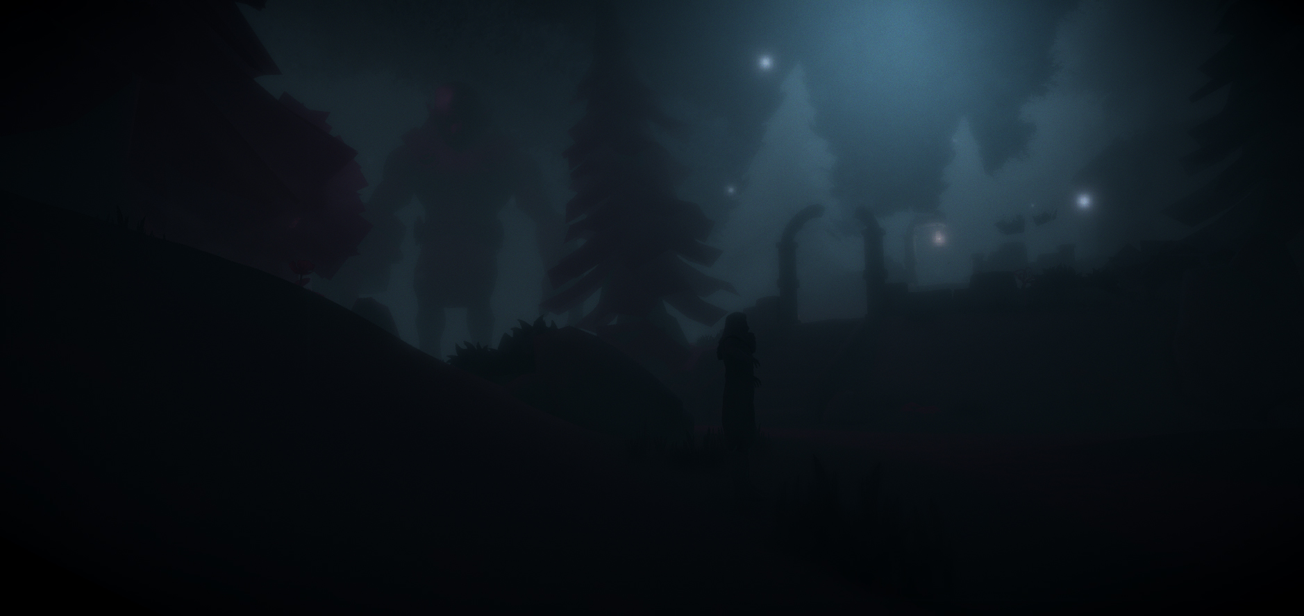Silhouette Lighting and Atmosphere (Level Design)
