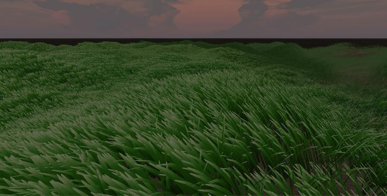 Realistic Real Time Grass Rendering With Unity