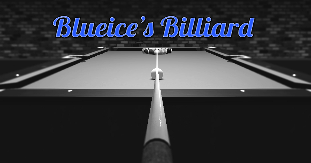 Blueice's Billiard