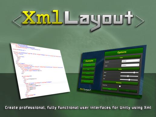 XmlLayout: Xml-driven UI Framework