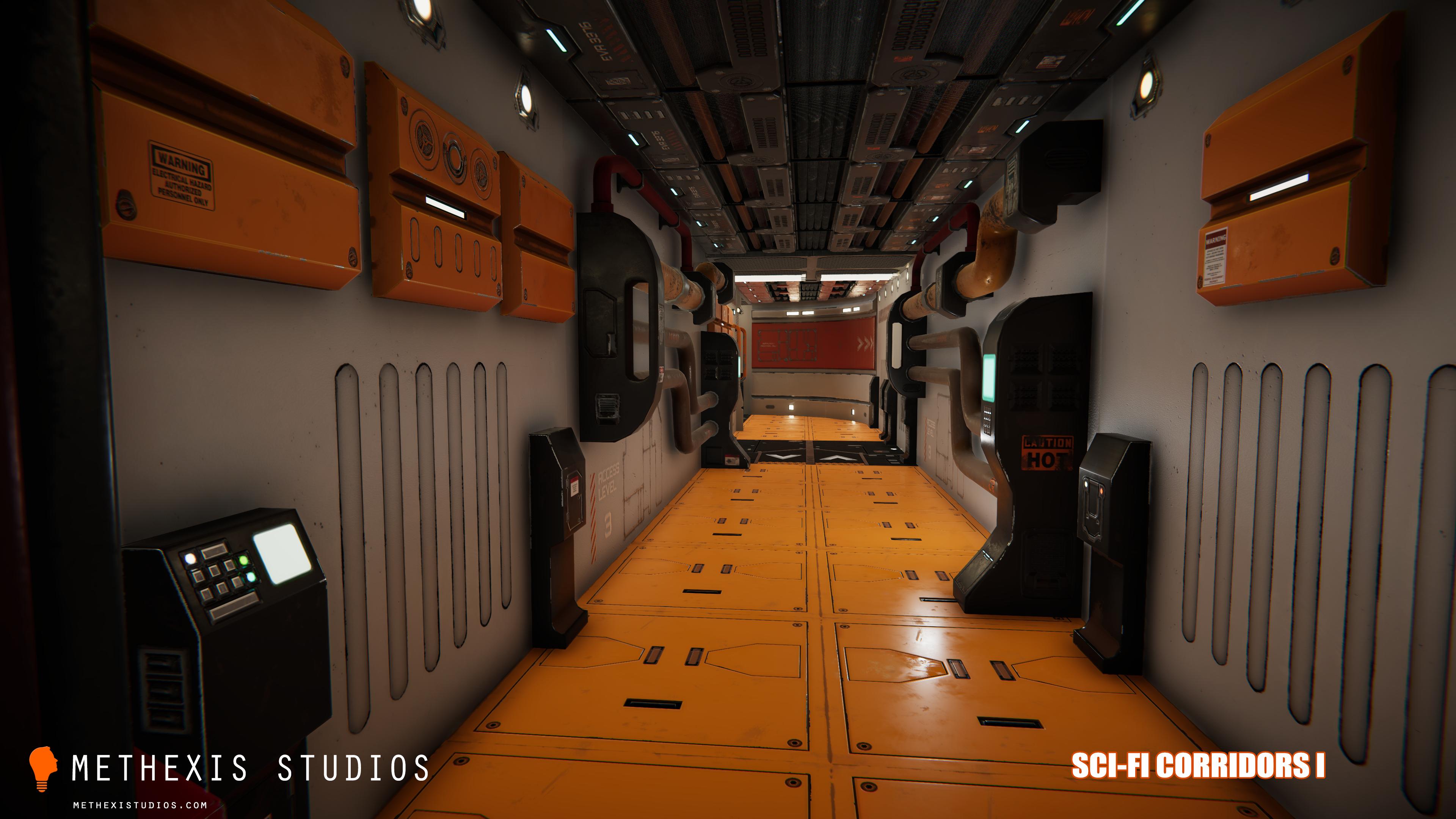 Sci-Fi Corridors I
