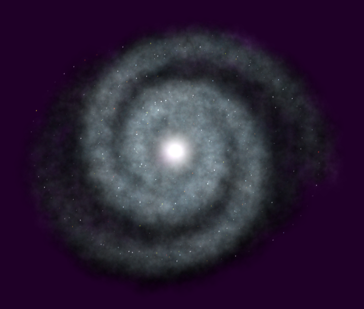 Galaxy Particle System