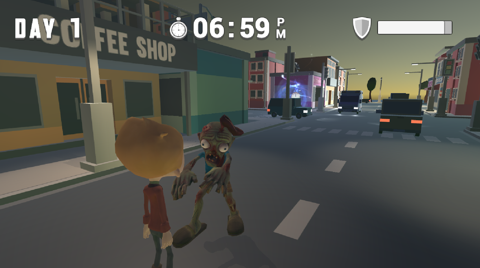Zombie City - 3D Platforms Game