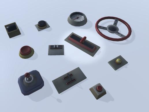Various Asset Store items