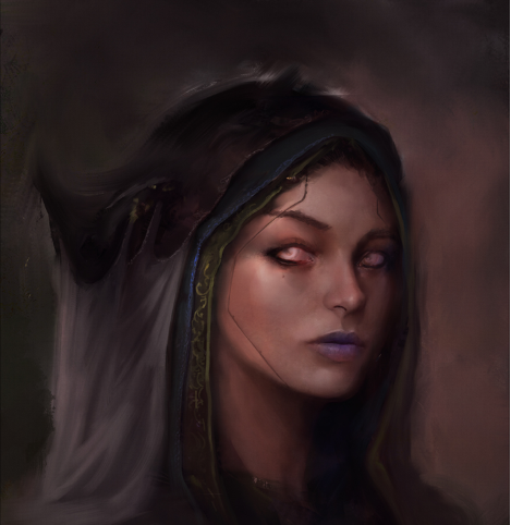 portrait painting from imagination
