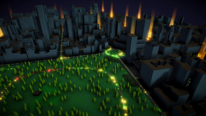 Manhattan live traffic in Unity