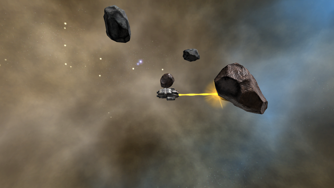 Diamond Drifts Deep Space Mining