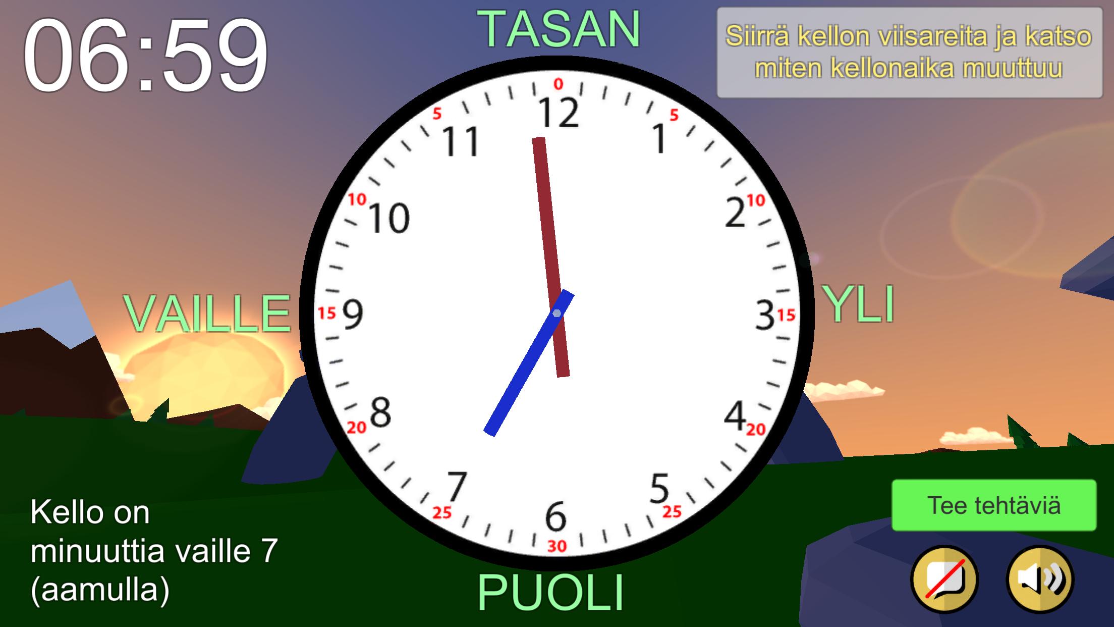 Mitä kello on?