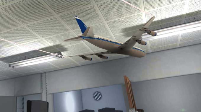 Toy Airplane Flight Simulator