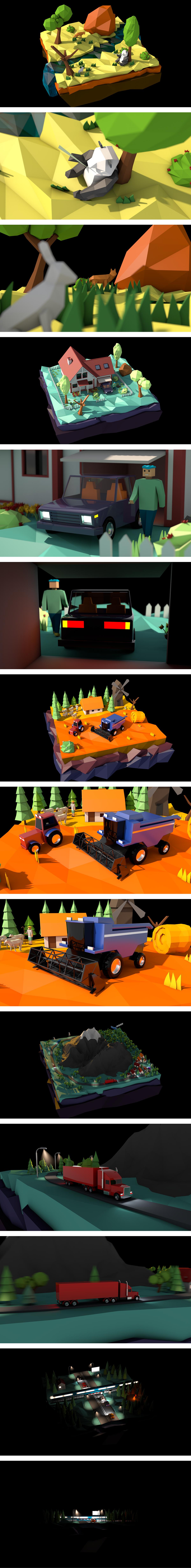 3D Landscape models