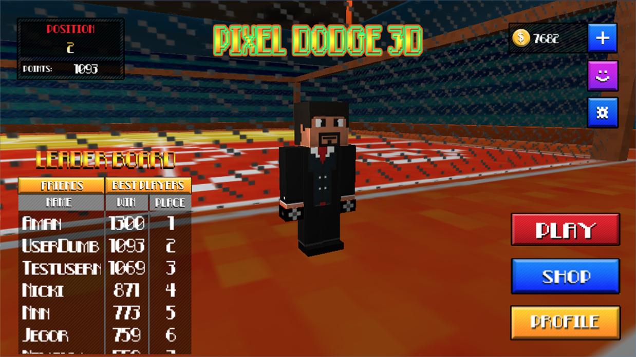 Pixel Dodge 3D