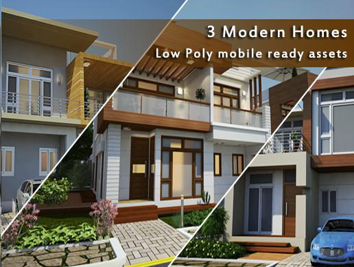Modern Homes Pack