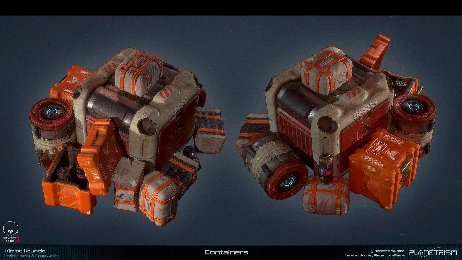 Planetrism - Containers