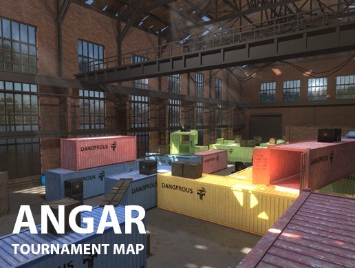Angar - tournament map
