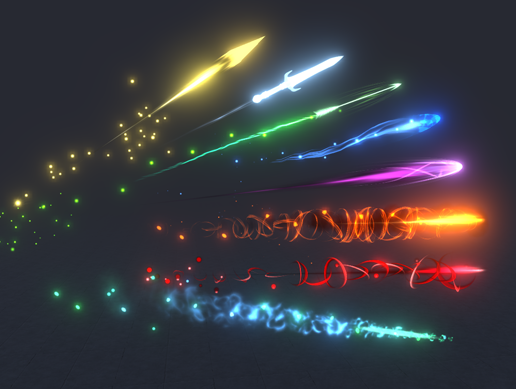 AAA Stylized Projectiles (Made in Unity 2018.1)