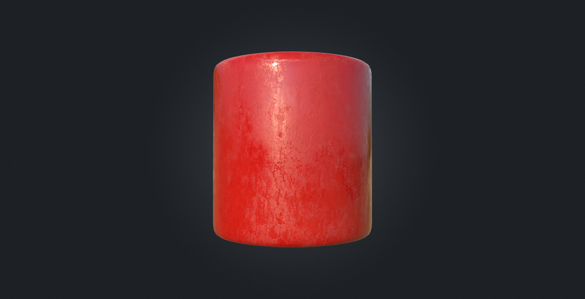Substance Designer | Painted Metal Material