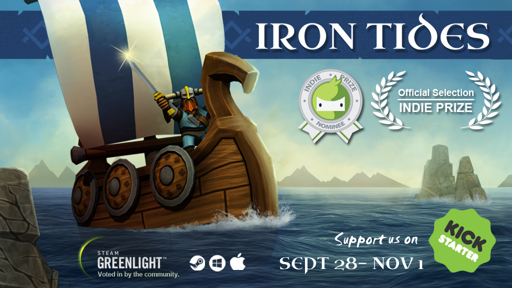 Iron Tides Promotion Art