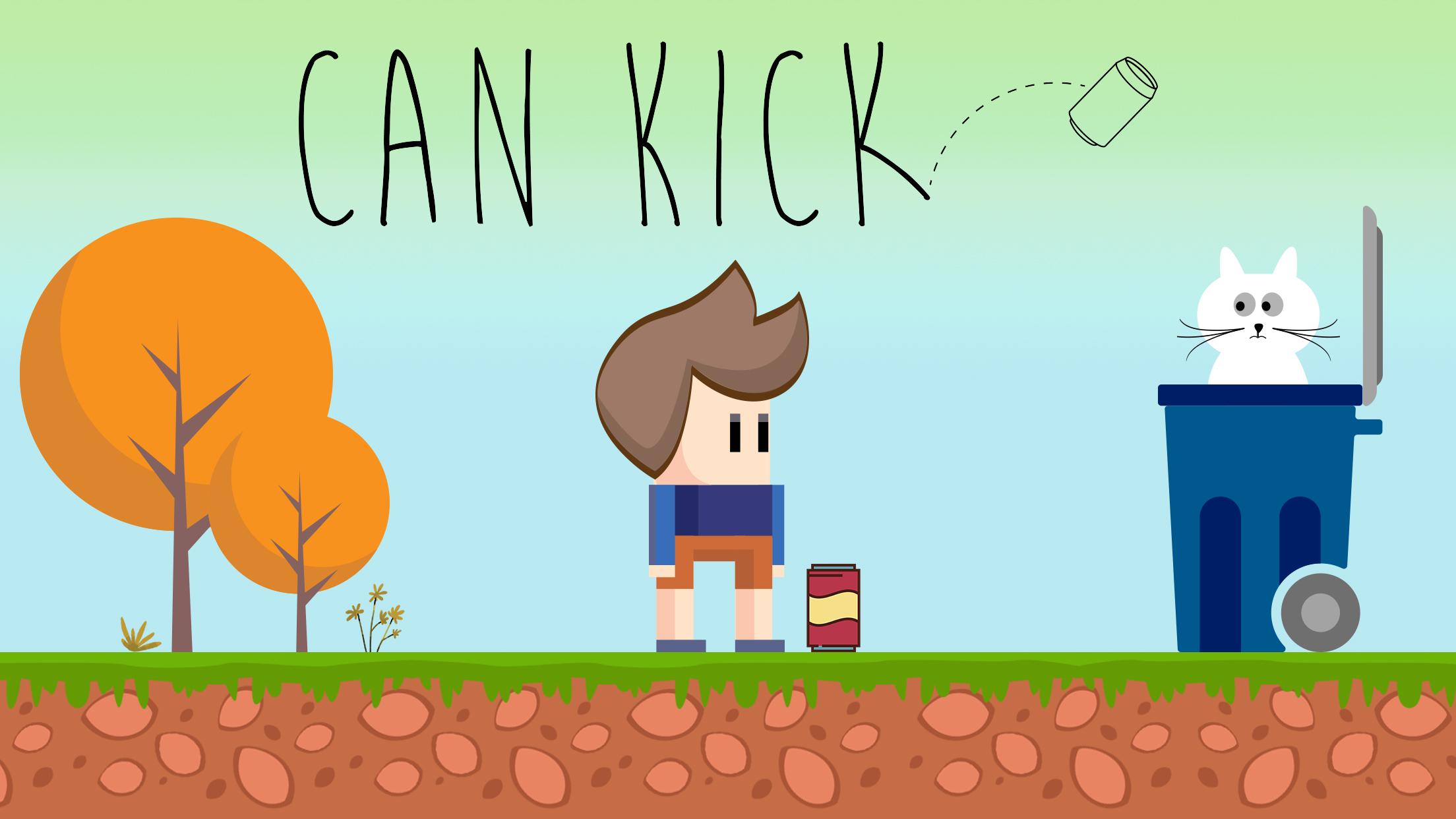 Can Kick!