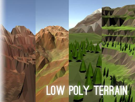 Low Poly Terrain System