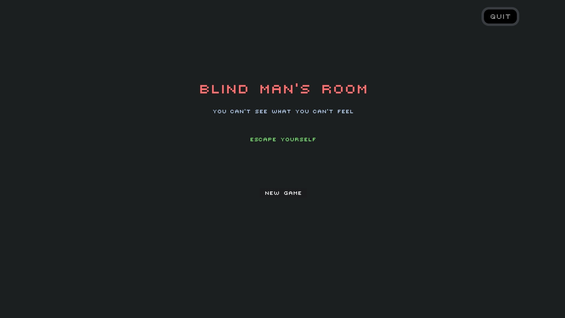 Blind Man's Room
