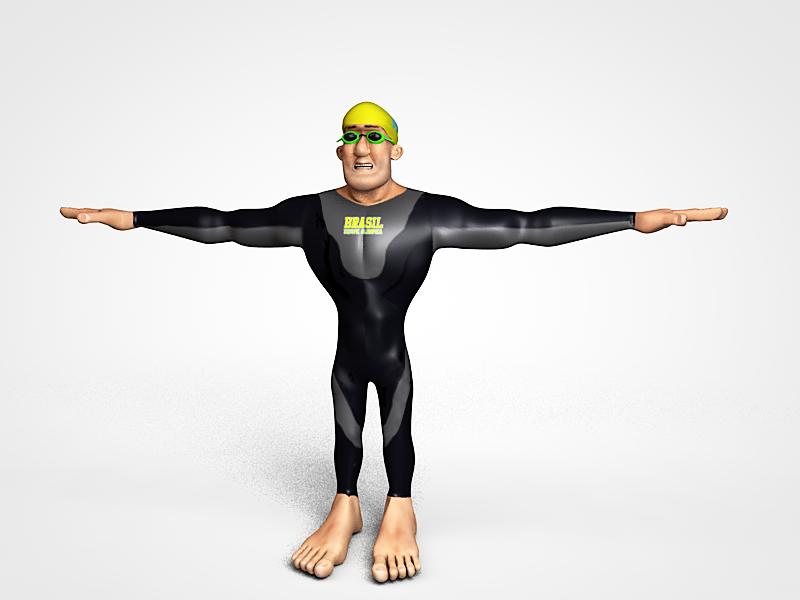 Swimmer - character model