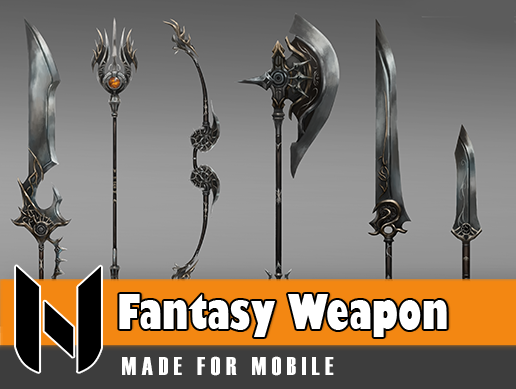 Fantasy Weapon Set 1