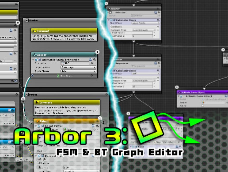 Arbor 3- FSM & BT Graph Editor 介绍