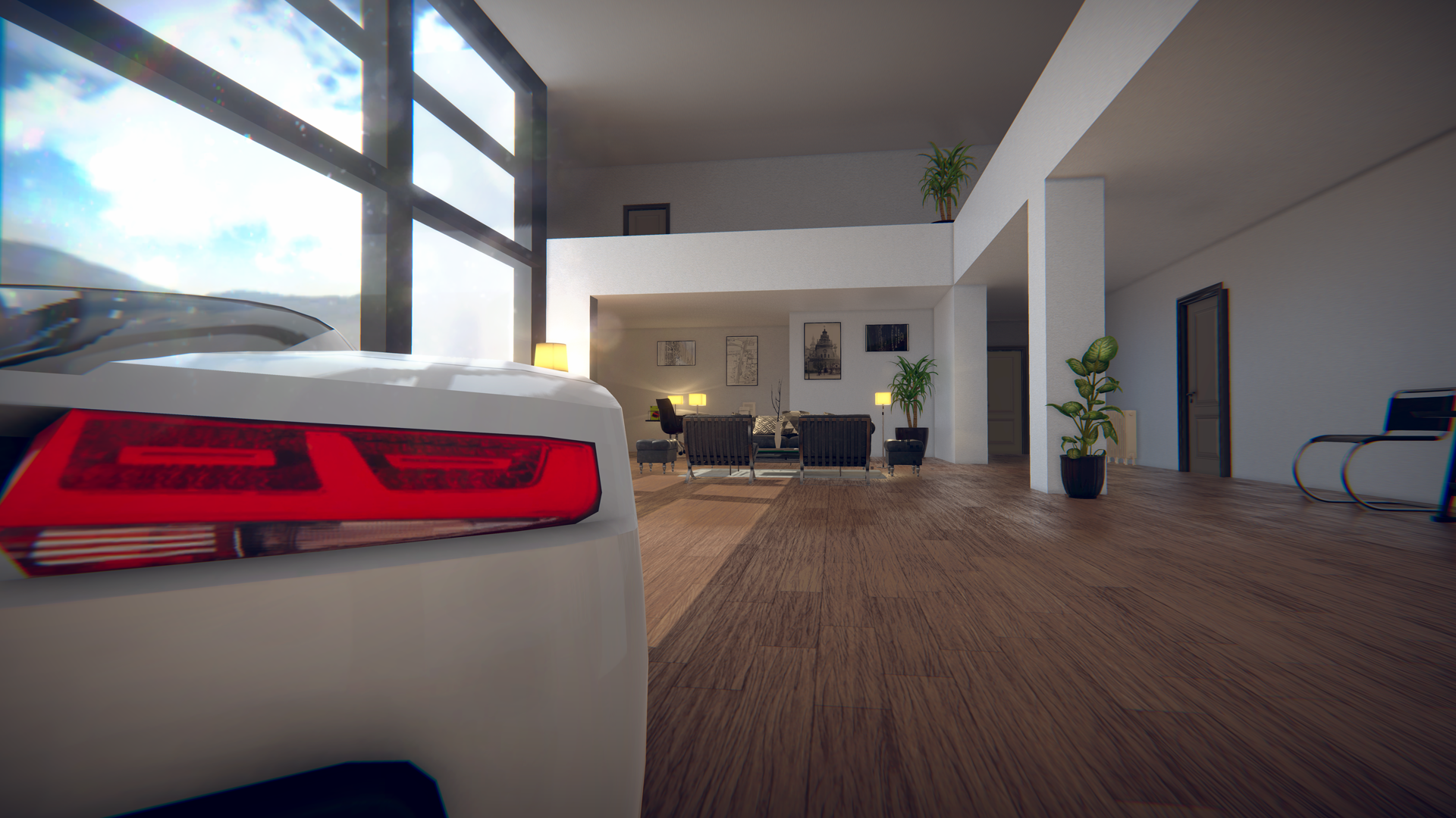 Luxury Home + Car VR Demo