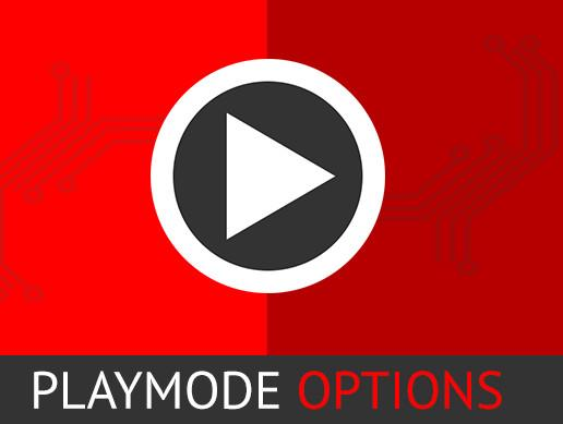 Playmode Options