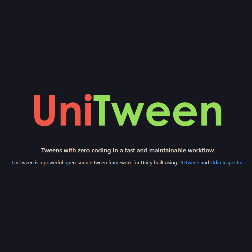 UniTween - Creating Tweens with Zero Coding!