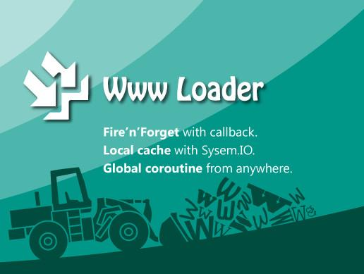 Www Loader - Fire'n'Forget with global Coroutiner