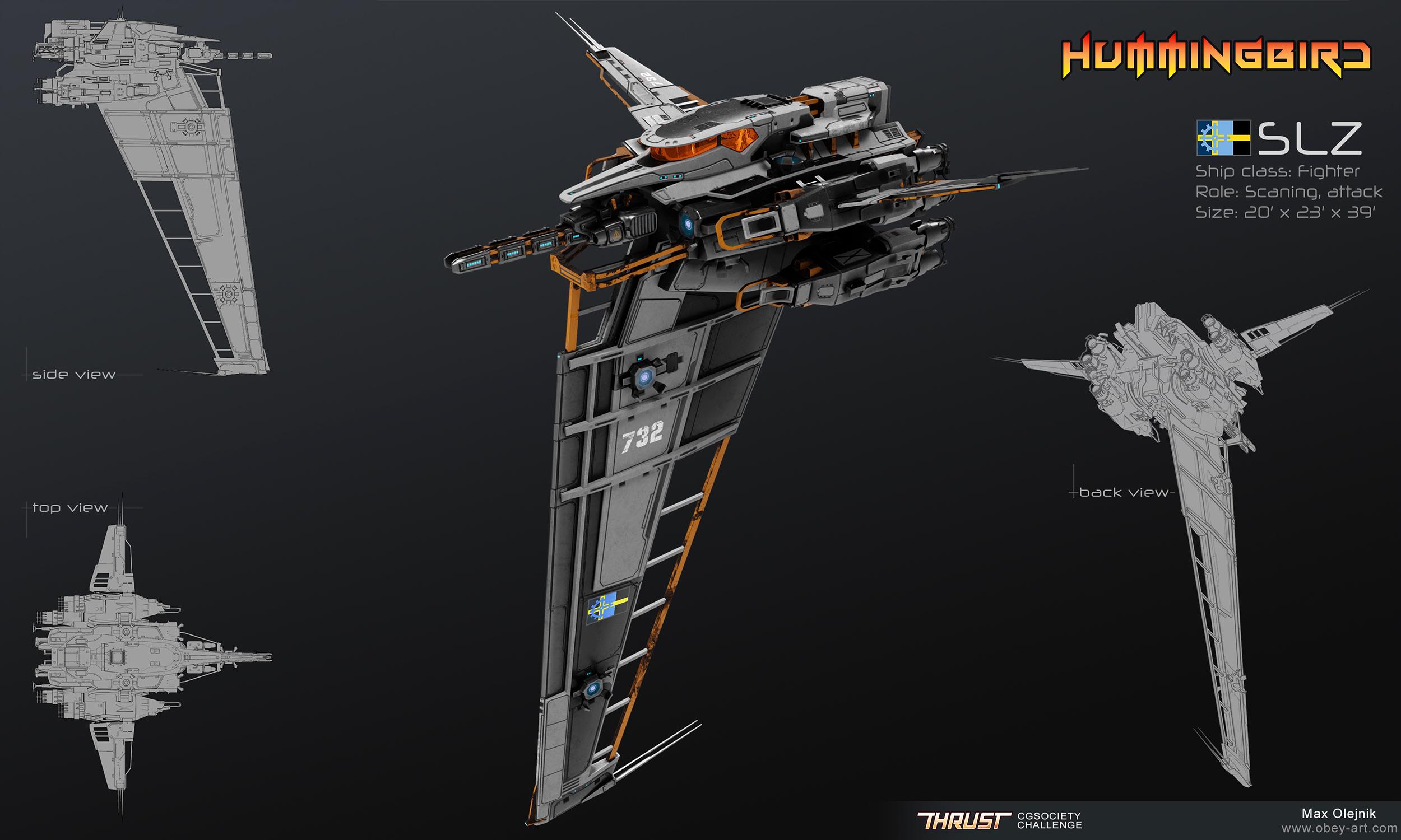 Hummingbird - Fighter