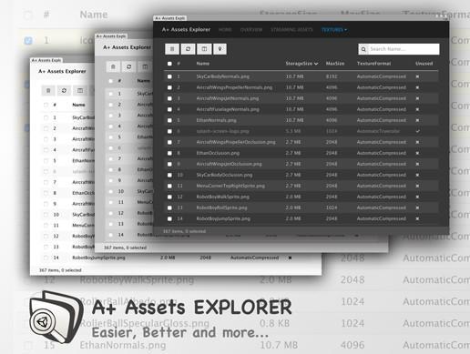 A+ Assets Explorer