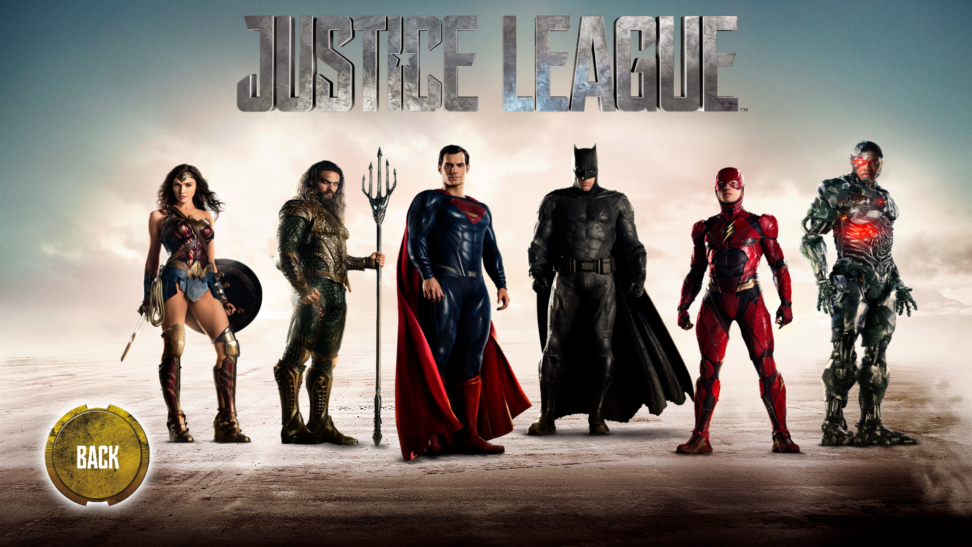 JUSTICE LEAGUE : Kinect Experience
